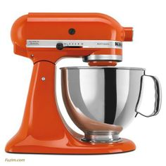 KitchenAid Artisan Tilt-Head Stand Mixer with Pouring Shield. I want this!!