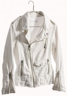 A white biker jacket with 2 kids under 2? Yes...this is why its called a WISH LIST! ahahah