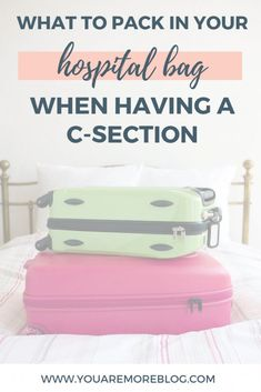 Hospital Bag Packing List: For the Mom Having a C-Section. What to pack when having a C-Section. C-Section Hospital bag for mom. C Section, Baby Kicking, After Baby, Baby Arrival, Pregnant Mom, Hospital Bag, First Time Moms, What To Pack, Baby Hacks