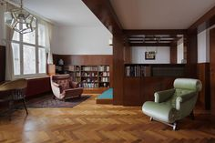 Interior by Adolf Loos the Richard Hirsch apartment in Prague