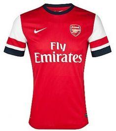 12/13 Arsenal Jersey Home Red Soccer Jersey Soccer Shirt_Arsenal_Shop By Club_Cheap Soccer Jerseys,Wholesale,Customized Soccer Jerseys On Sale!