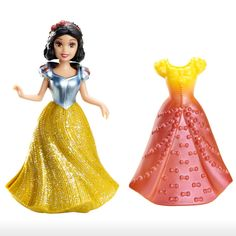 Disney Toys  3y+  Princess MagiClip Snow White Doll And Fashion   Shop Online