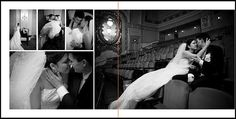 wedding photobook sample layouts - Google Search