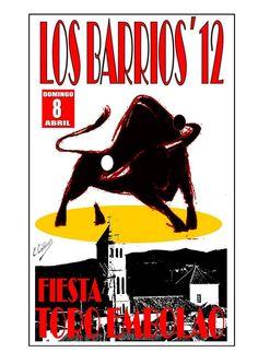 CARTEL TORO EMBOLAO 2012 LOS BARRIOS