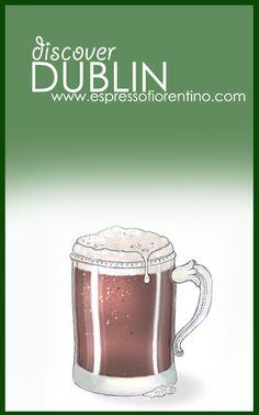 Aaron Mora for www.espressofiorentino.com Come with us to #Dublin! Ven con nosotros a #Dublín! #viajar #viajes #travel #ireland #guinness