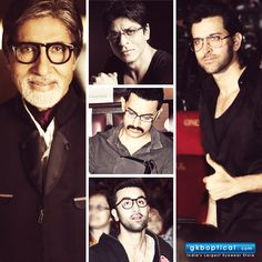 Top 5 Bollywood Actors with Specs Appeal. #ShahrukhKhan #AmitabhBachchan #AamirKhan #RanbirKapoor #HrithikRoshan #Spectacles #Glasses