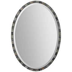 """Paredes 29"""" High Antiqued Oval Wall Mirror - #2X233   Lamps Plus"""