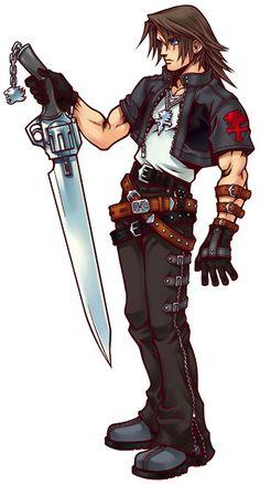 Kingdom Hearts - Leon (Squall Leonhart)
