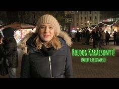 Hungarian Lesson with Zsuzsi - Christmas Special Black Bear, Merry Christmas, Winter Hats, Learning, Youtube, Language, Party, Merry Little Christmas, American Black Bear