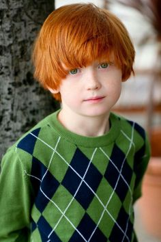 Prime Marcus Photographed By Dad Ignacio Ayestaran For Redheads Kids Hairstyles For Women Draintrainus