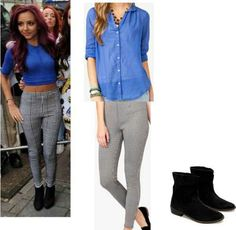 Outfit inspired by jade from little mix love them