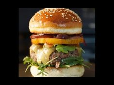 ▶ How to Make a Perfect Hamburger - Bruno Albouze - THE REAL DEAL - YouTube