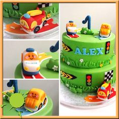 Toet vtech cake! Birthday Party Themes, Birthday Cake, Pinterest Cake, How To Make Cake, Car Cakes, 1 An, Desserts, Cups, Food
