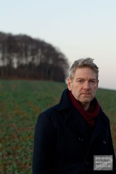 Kenneth Branagh and his scruffy Wallander face *_*