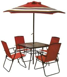 Rite Aid #Recalls Outdoor Dining Sets Due to Fall Hazard