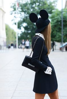#AnnaDelloRusso. #SS14. #TommyTon. Match made in #streetstyle heaven. #monochrome