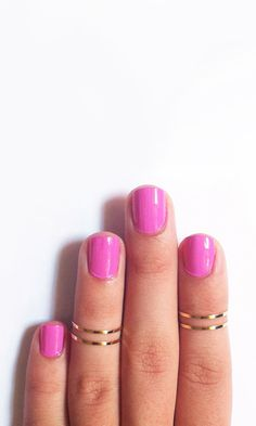 Knuckle rings #designtrend