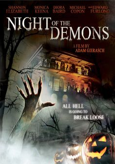 Night of the Demons remake. Definitely not as good as the first.