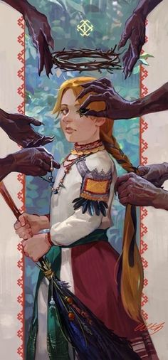 Heiress by eleth-art on DeviantArt Avy Yi, High Priestess of Yidhra, Mother of the Inque siblings, of Scottish decent (yes that family). Mode Inspiration, Character Inspiration, Character Art, Character Design, Illustrations, Illustration Art, Kawaii, Pretty Art, Aesthetic Art