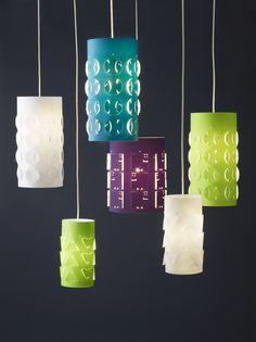 Lámparas de colores  #Iluminación  #Lighting