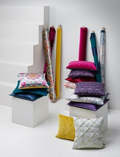 SAHCO Home Collection / cushions & fabrics