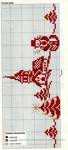 Xmas Cross Stitch, Cross Stitch Charts, Cross Stitch Designs, Cross Stitching, Cross Stitch Embroidery, Embroidery Patterns, Hand Embroidery, Cross Stitch Patterns, Cross Stitch Numbers