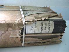 A vintage parcel   2 antique books in a by VintageVagabondToo, $27.00