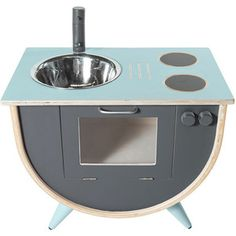 Sebra Play Kitchen - Blue