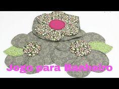 JOGO PARA BANHEIRO - COMO FAZER PASSO A PASSO - Lu Lampert - YouTube