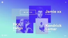 Spotify - Year In Music - Seasons