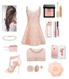 """""""Peaches"""" by aplatis1 ❤ liked on Polyvore featuring beauty, Opening Ceremony, Blue Nile, Chanel, Jimmy Choo, Humble Chic, AERIN, Balenciaga, Bobbi Brown Cosmetics and Essie"""