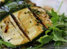 Salada de Courgette Grelhada e Rúcula