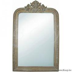 "Lifestyle94-Lifestyle Mirror Rivoli Washed Oak M 106163 <span style=""font-size: 6pt;""> Spiegel-Sierspiegel-miroir </span>"