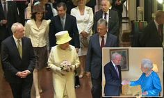 The Queen and Prince Philip tour notorious Belfast prisonn.
