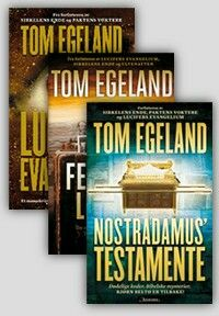 Tom Egeland, great reading!