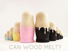 CAN WOOD MELT?...