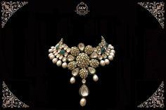 SKM 84 Stylish Jewelry, Fashion Jewelry, Emerald Jewelry, Gold Jewellery, India Jewelry, Engagement Jewelry, Jewelry Patterns, Necklace Designs, Wedding Jewelry