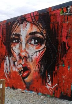 Jef in La Villa Gregam, Vannes, Bretagne, France, 2017 Street Wall Art, Urban Street Art, Urban Art, Japanese Art Samurai, Samurai Art, Amazing Street Art, Amazing Art, Graffiti Art, Banksy