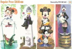 """ON SALE Counted Cross Stitch Pattern,  disney haunted mansion, only pdf, chart, 19.71"""" x 12.36"""" - L1121 by lovemystitch on Etsy https://www.etsy.com/listing/270743374/on-sale-counted-cross-stitch-pattern"""