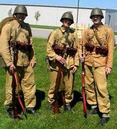 Polish army summer uniforms 1939