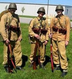 Polish army summer uniforms 1939