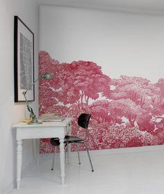 Wall mural R13056 Bellewood, Crimson Toile