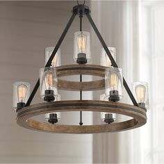 Farmhouse Lighting Design Tips Now is the perfect to start thinking about redecorating your farm home's interior. Rustic Chandelier, Home Lighting, Lighting, Lamps Plus, Lighting Trends, Franklin Iron Works, Chandelier, Farmhouse Chandelier, Chandelier Lighting