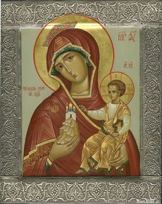 """""""The Clouded Mount"""" Icon of the Mother of God / Икона Божией Матери """"Тучная гора"""" (Mar 24/Apr 6)"""