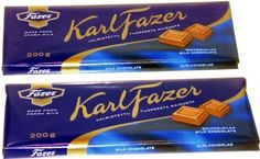 TWO FAZER MILK CHOCOLATE 200g Bars Made in Finland by Fazer Chocolates ** Details can be found by clicking on the image.