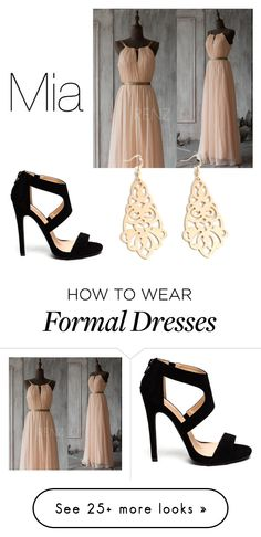 """""""Untitled #226"""" by kokosnuss2509 on Polyvore featuring Blush Prom"""