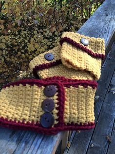 Headband and Boot Cuffs are handmade in Minnesota Gopher Colors. You can order Boot Cuffs or Headband separately if you choose. If ordered