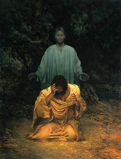 Gethsemane by James C. Christensen