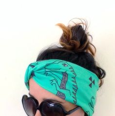 Rawwrrr Dinosaur Headband great for Yoga excercise relaxing find it on etsy