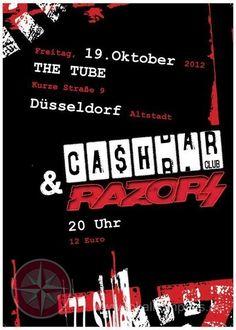 Cashbar Club und Razors Live in Düsseldorf